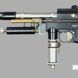 Left side of Machine Gun Mike's Autococker, c.1991/92.