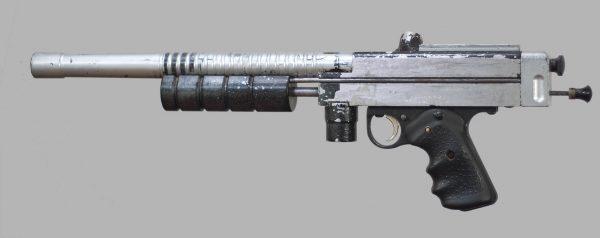 Sniper 1, serial number 11. Left side.