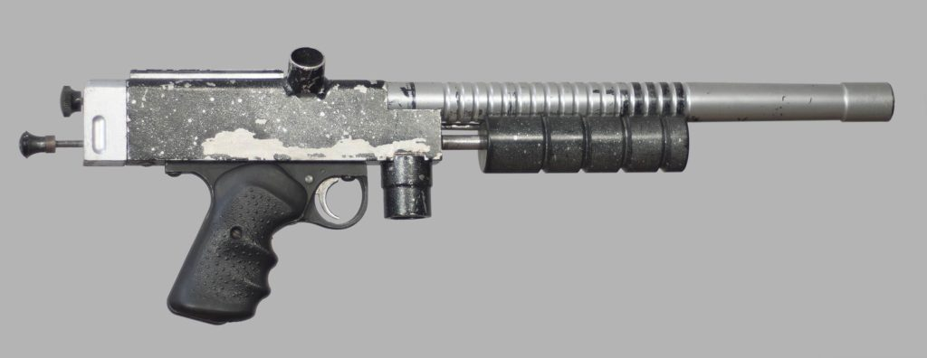 Sniper 1, serial number 11. Right side.
